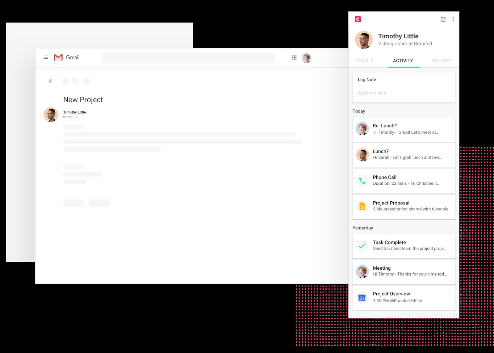 Integration with email