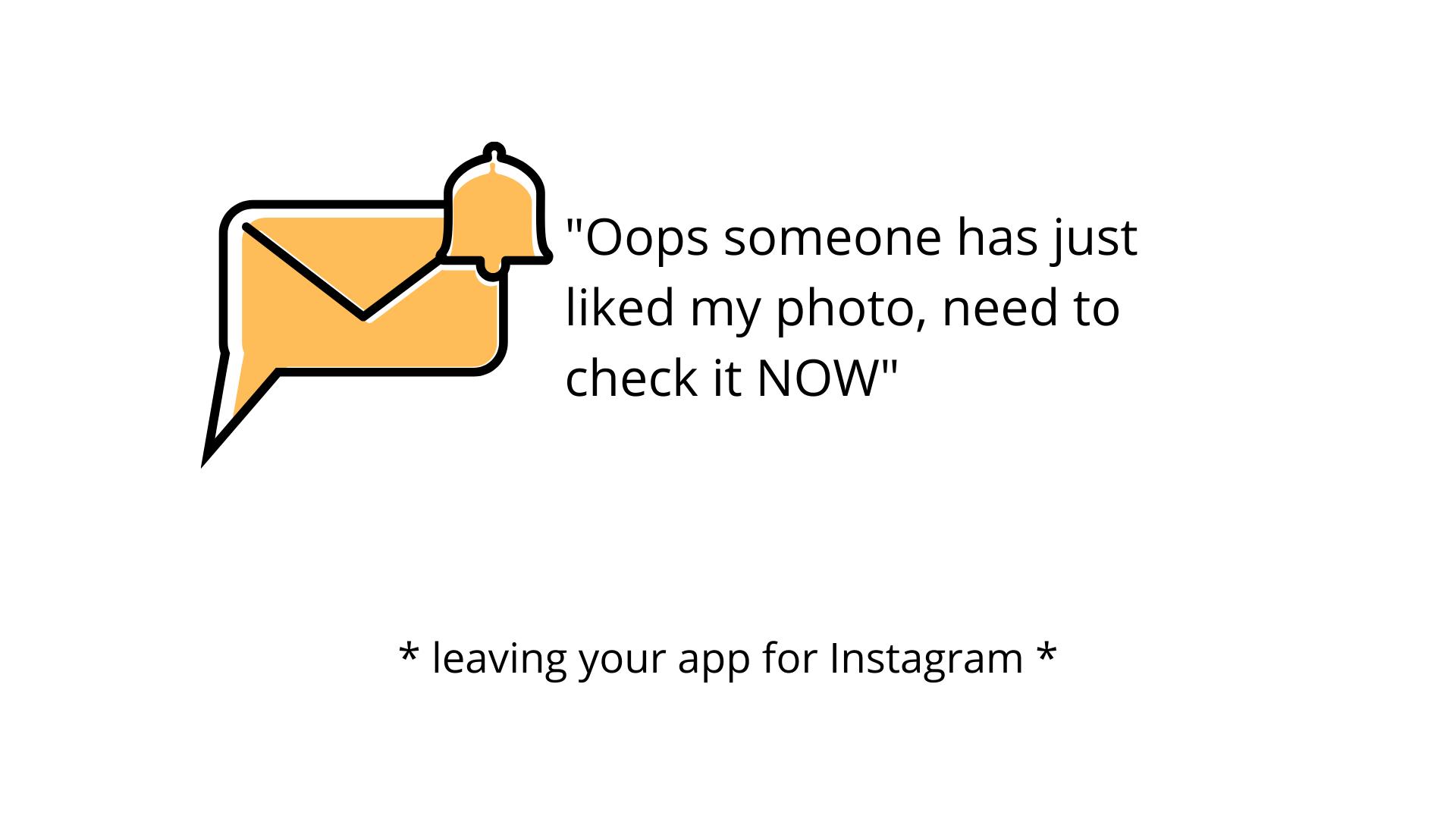 learning apps vs. social media meme