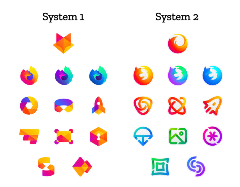 Firefox rebrand 2018