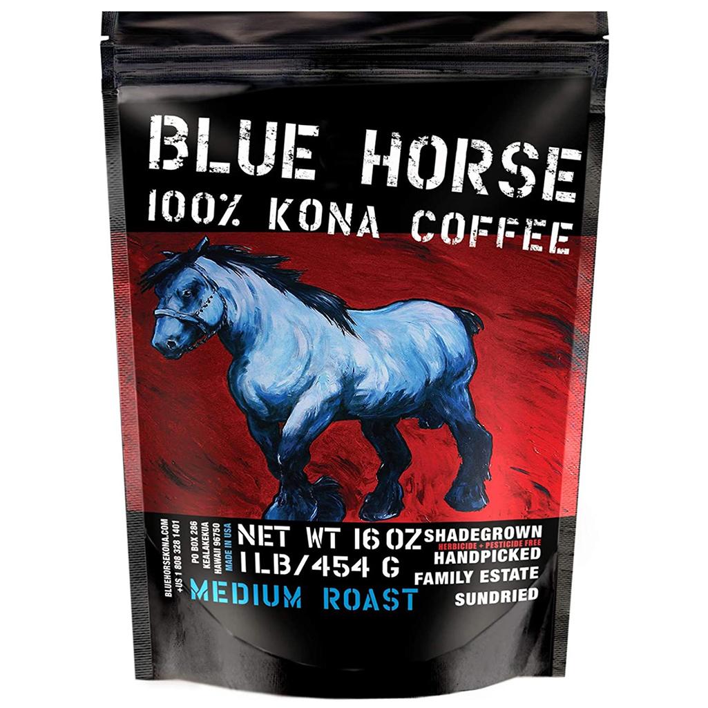 Blue Horse 100% Kona