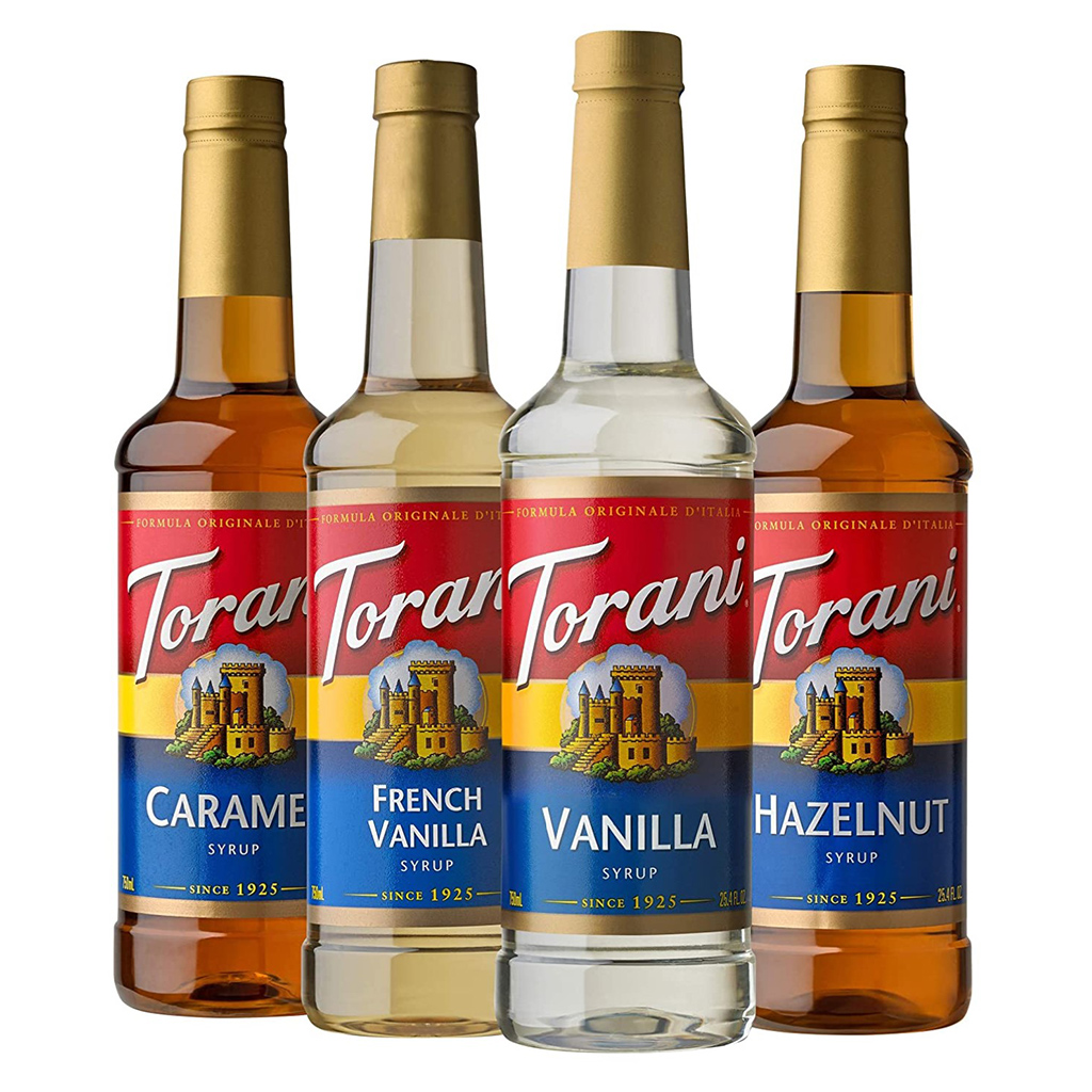 Torani Coffee Syrup Variety Pack
