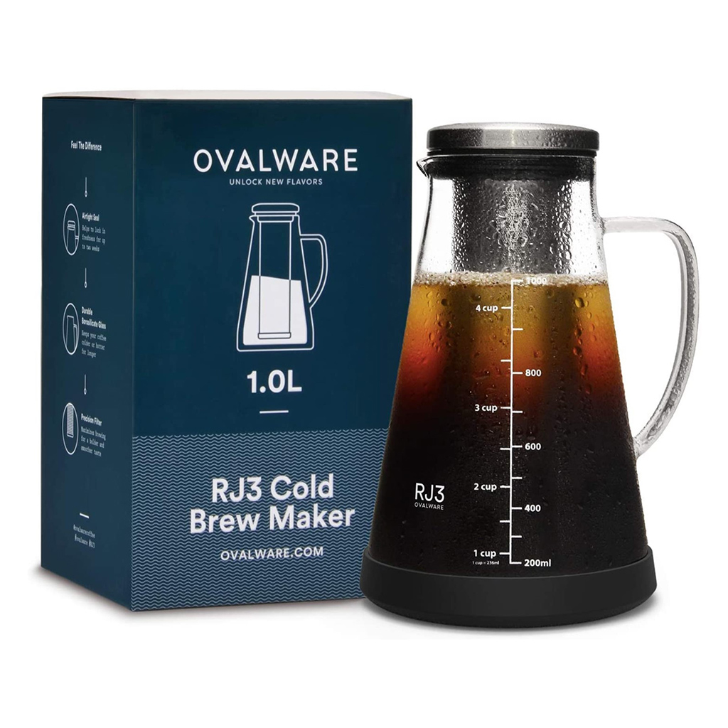 Ovalware RJ3 Cold Brew Coffee Maker
