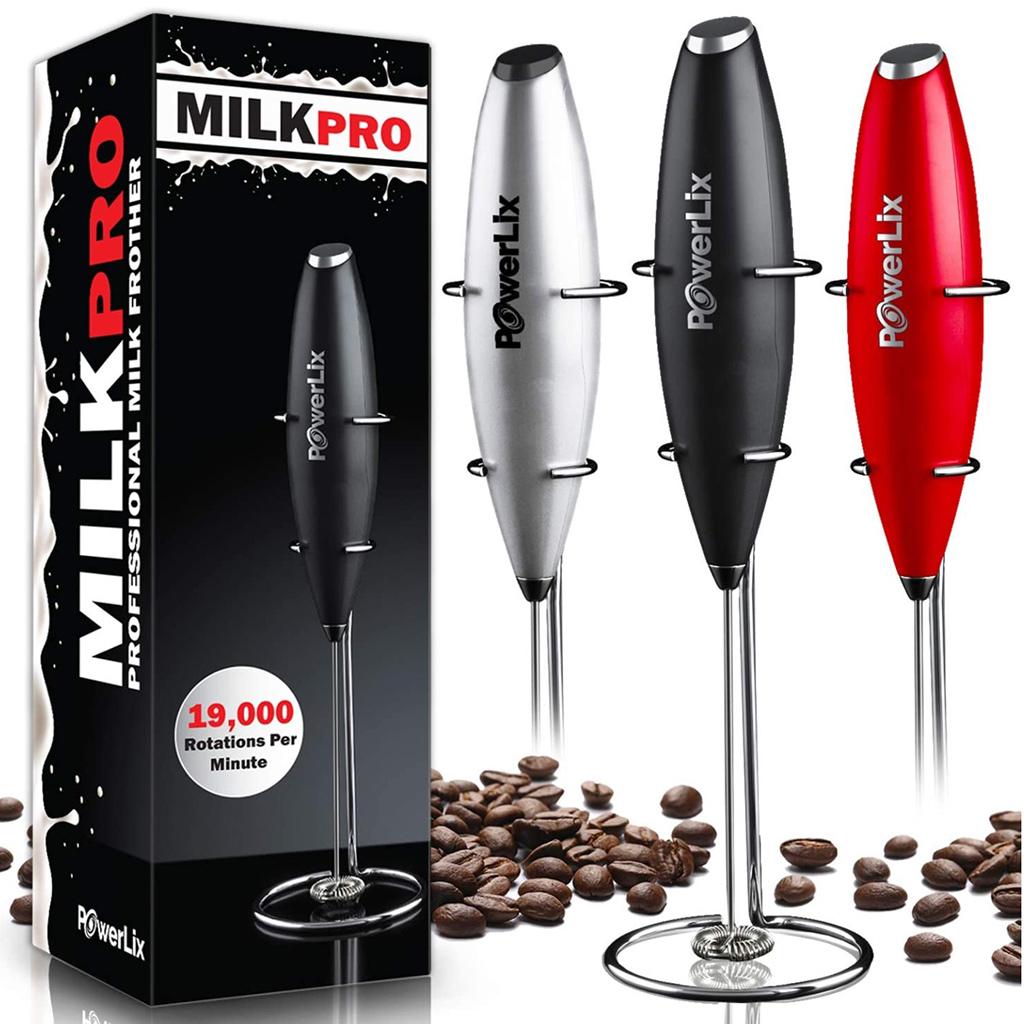 PowerLix Handheld Milk Frother