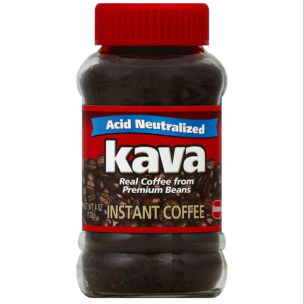 Kava Acid Neutralized Instant Coffee