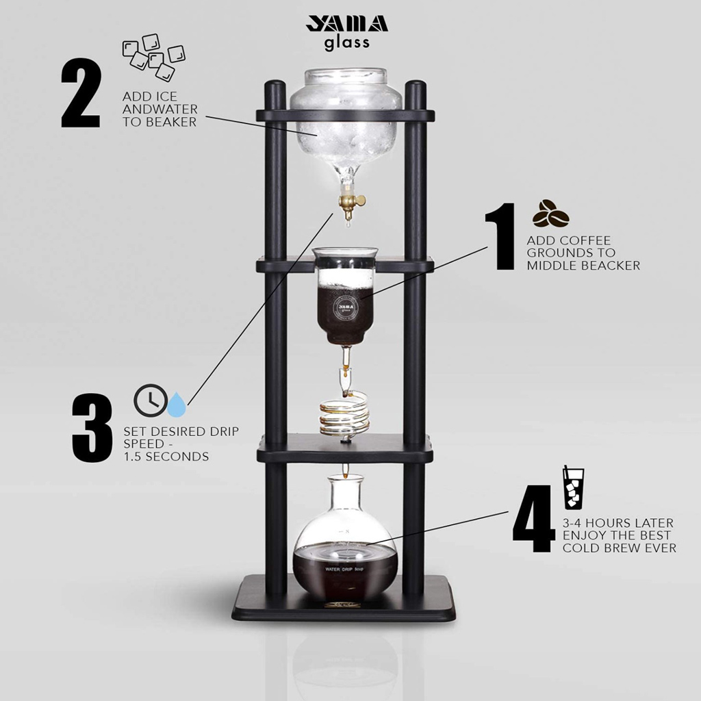 Yama Glass Cold Drip Coffee Maker
