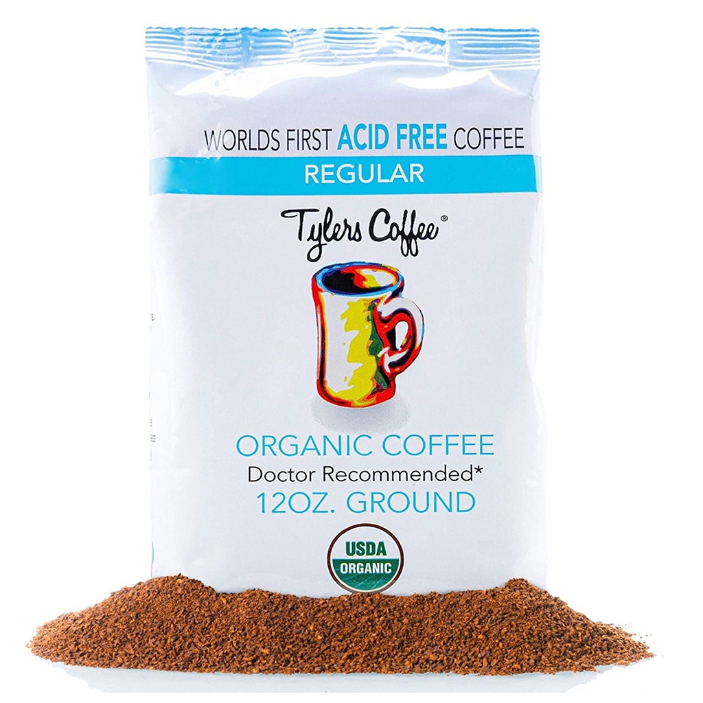 Tyler's No-Acid Organic Coffee
