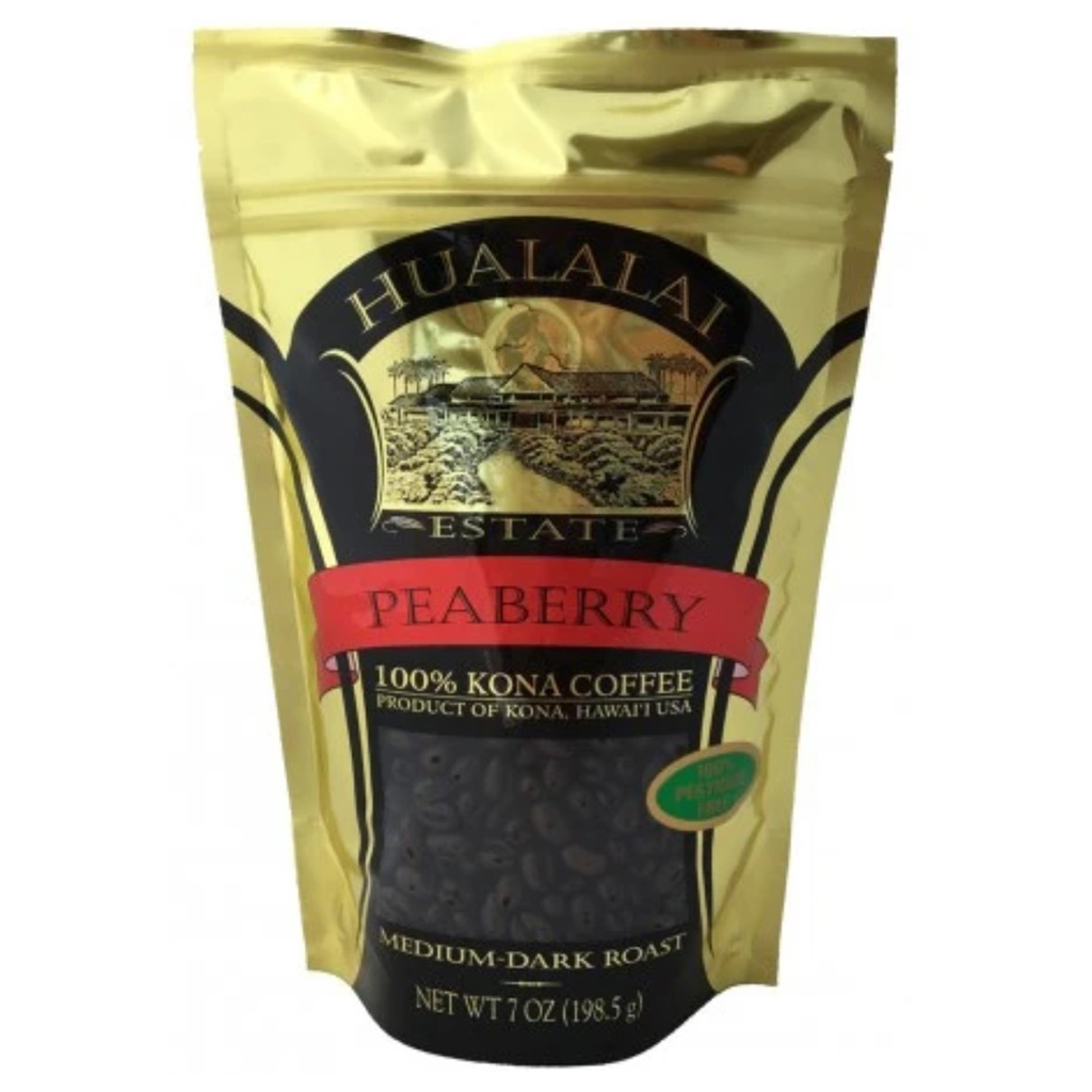 Hualalai Estate 100% Kona Peaberry Coffee