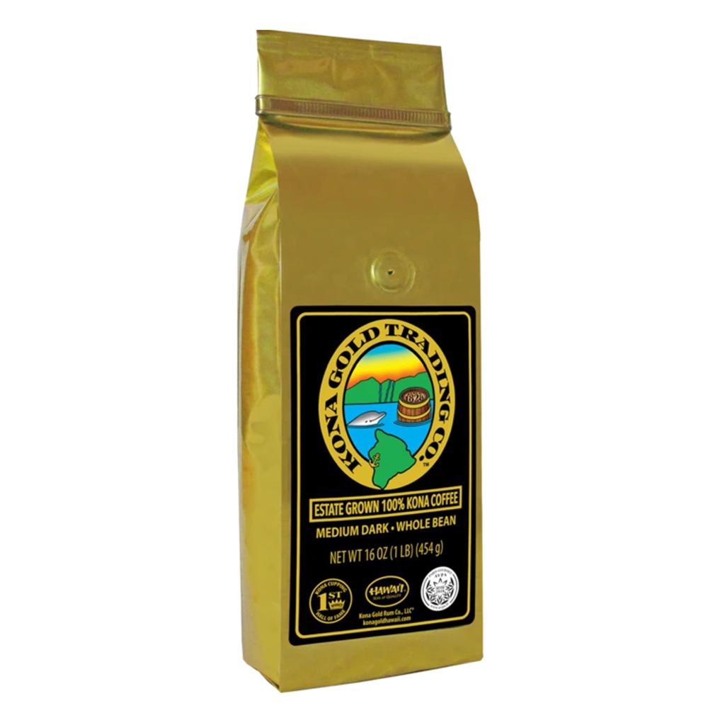 Kona Gold Trading Co. 100% Kona