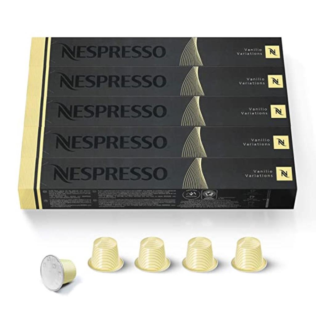 Nespresso Vanilio Capsules (OriginalLine)