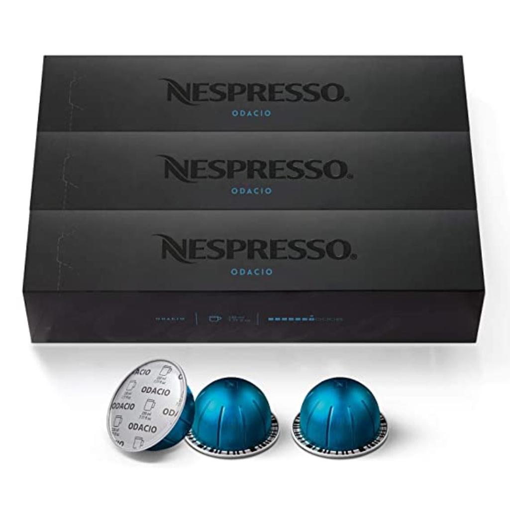 Nespresso Odacio Capsules (VertuoLine)