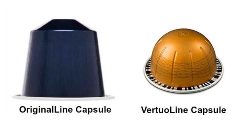 nespresso originalline and nespresso vertuoline capsules