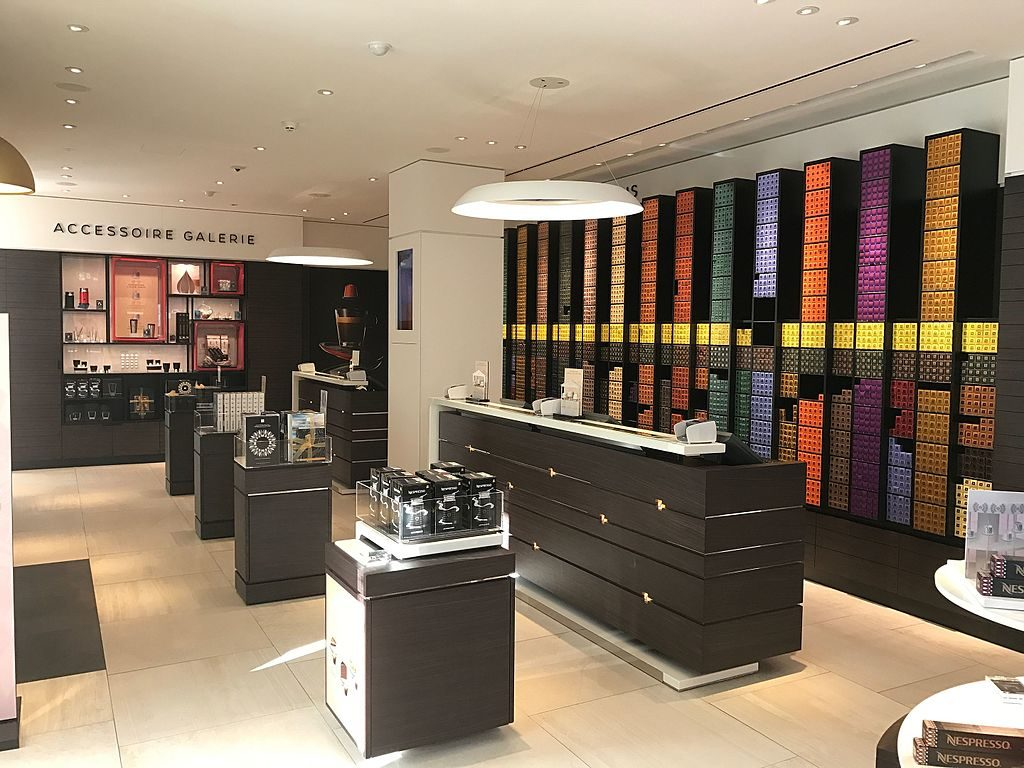 nespresso boutique is one place where to buy nespresso pods