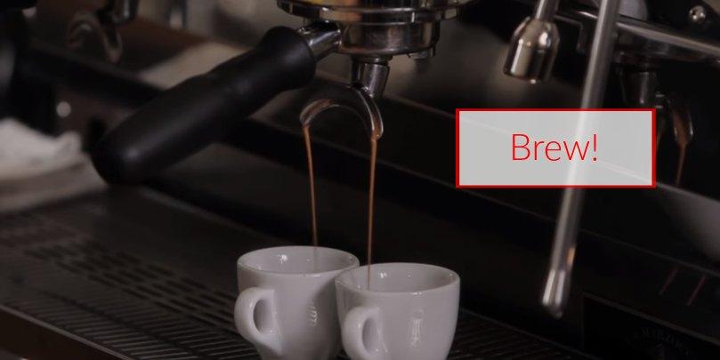 how to make espresso step 11 brew