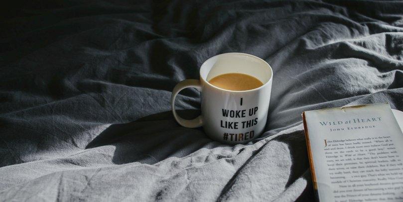 i woke up like this coffee mug slogan