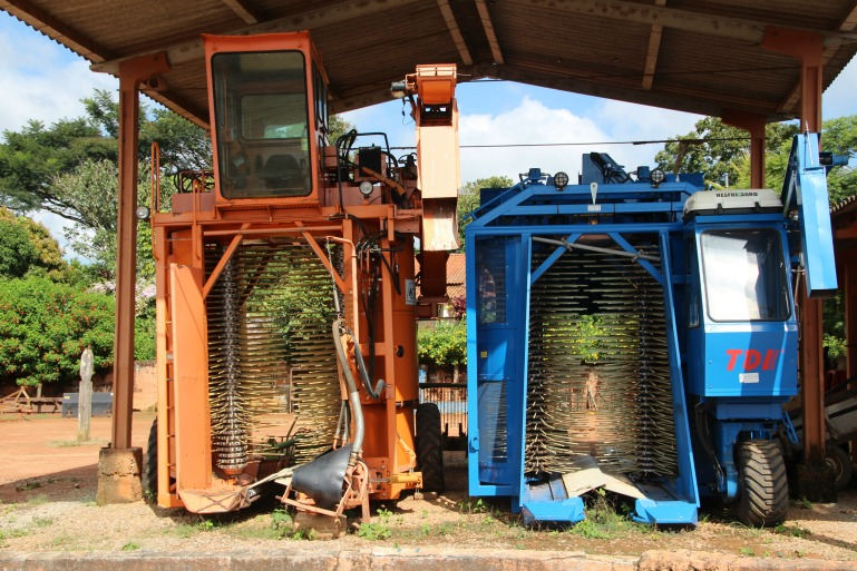 mechanical strip-picking machine