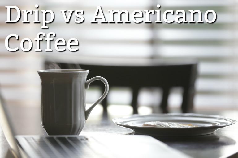 drip vs americano coffee