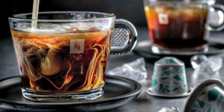 americano coffee with nespresso espresso capsules
