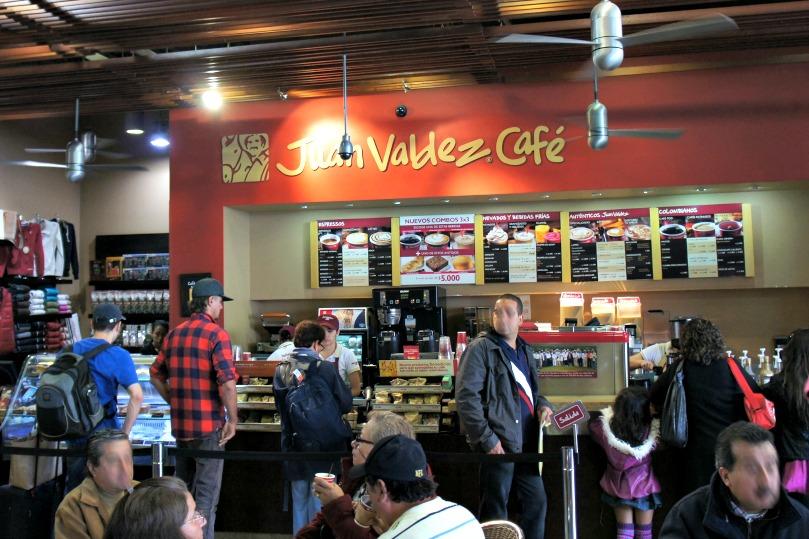 juan valdez cafe in colombia