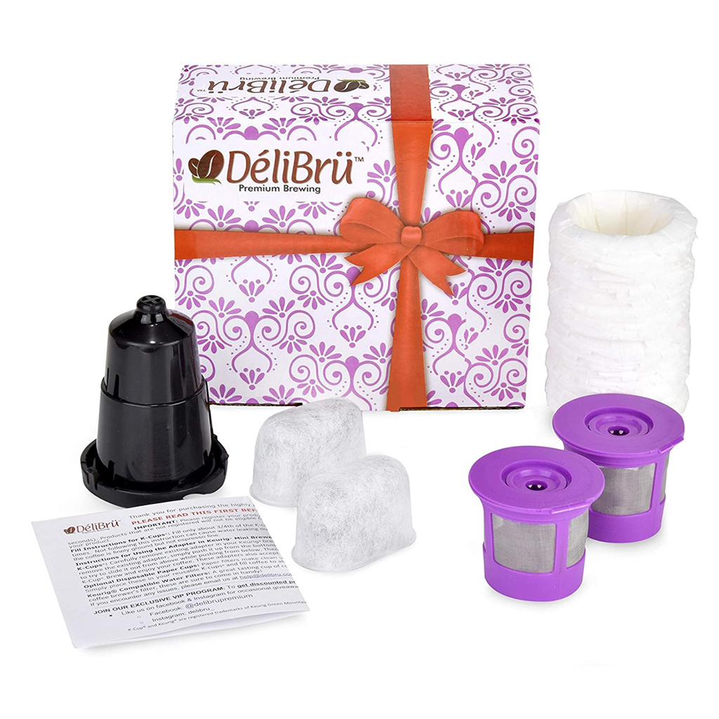 Delibru Universal Reusable K-Cup Bundle