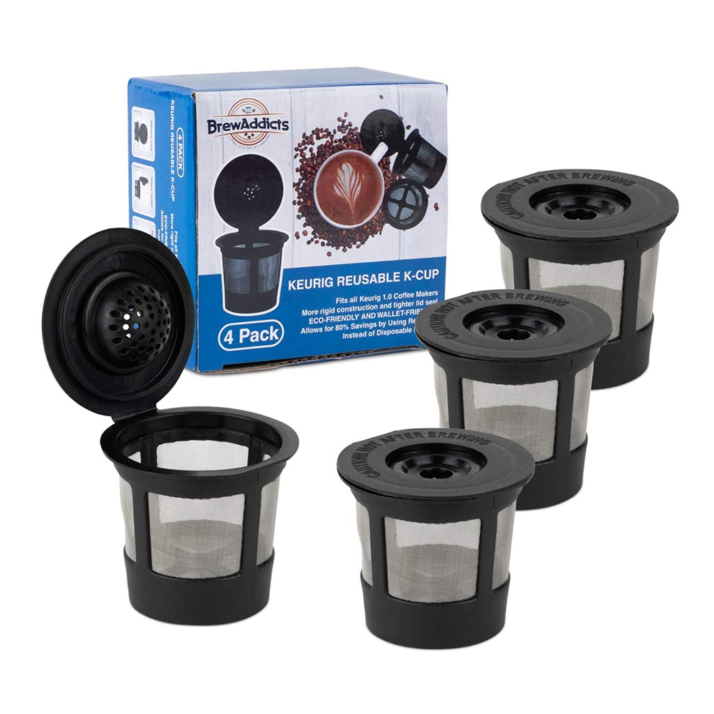 Brew Addicts Reusable K-Cup