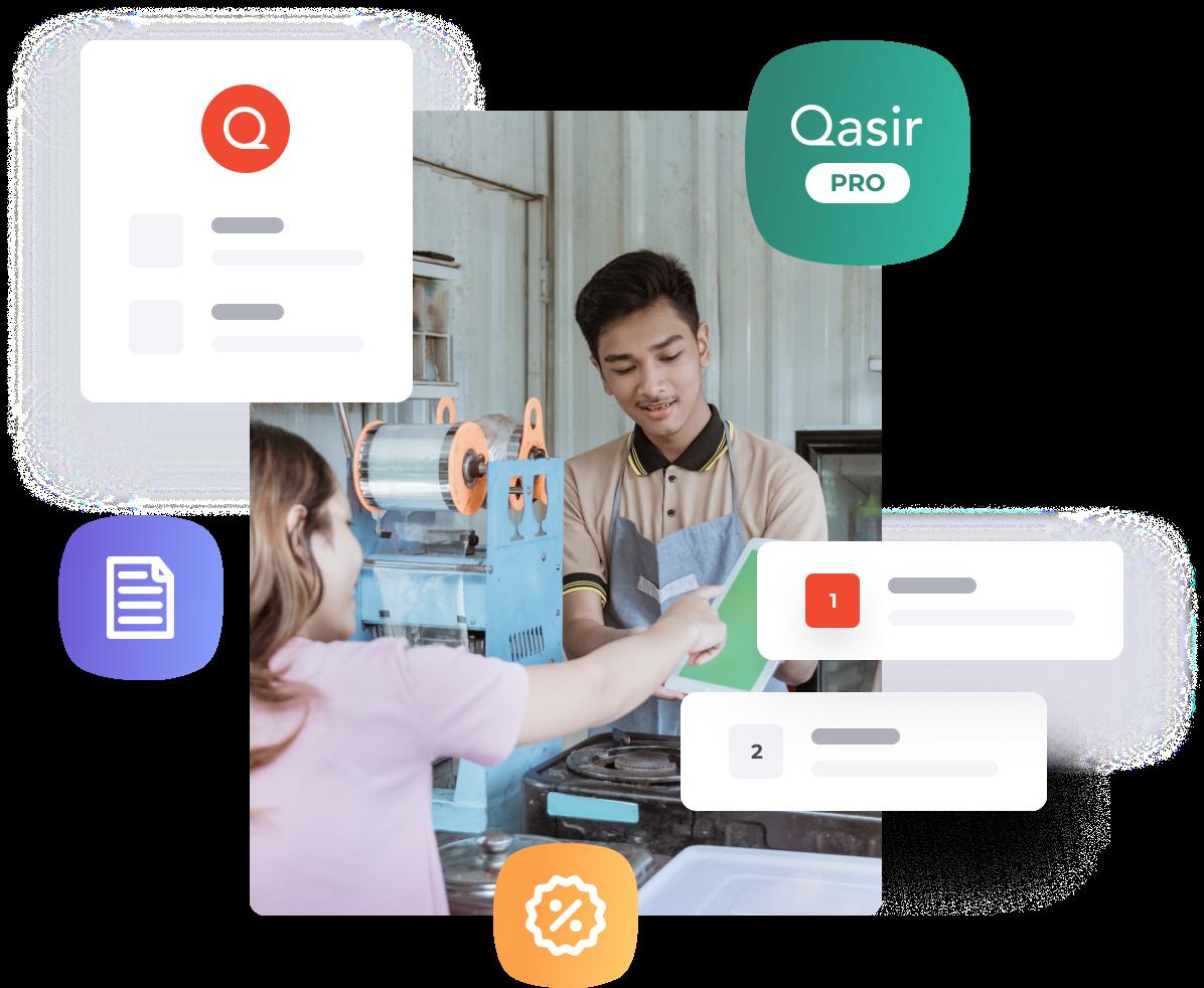 Qasir monitoring dashboard