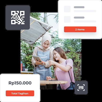 Qasir pembayaran digital