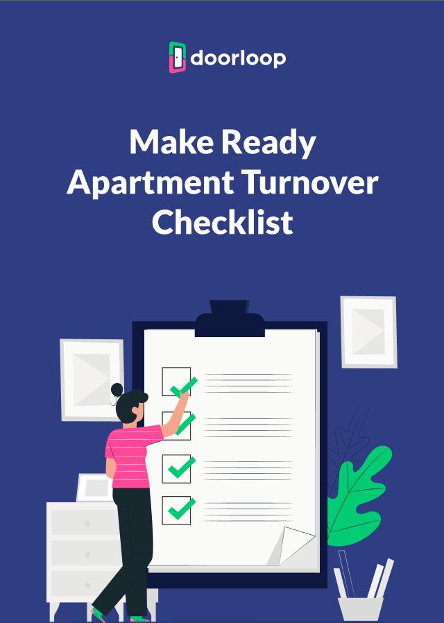 Make Ready Apartment Turnover Checklist