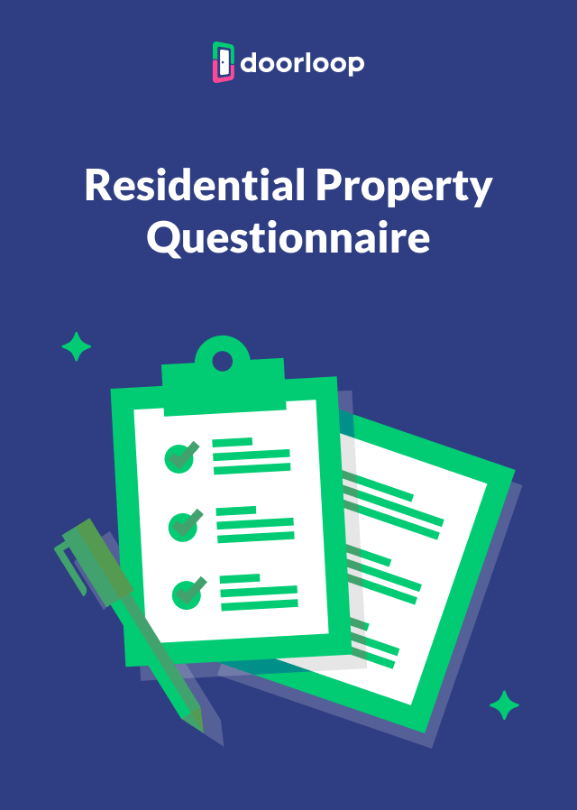 New Residential Property Questionnaire