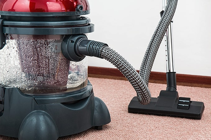 deep clean rental property carpet machine