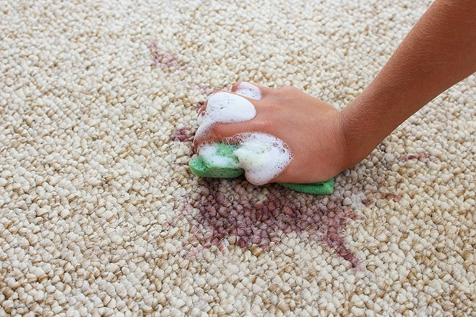 carpet cleaning and damage from a tenant