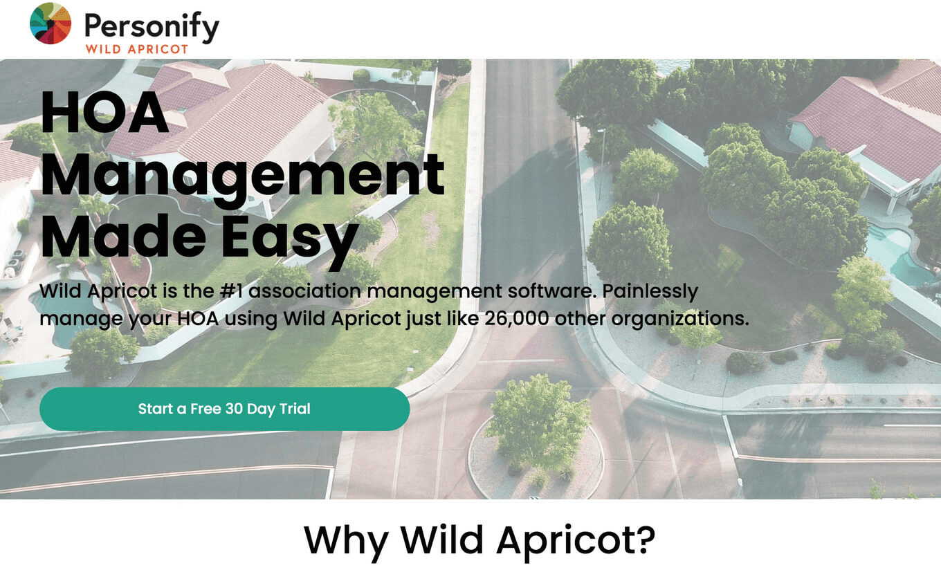 Wild Apricot Management system