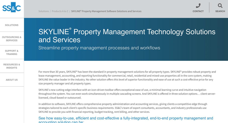 Skyline Property Management Software