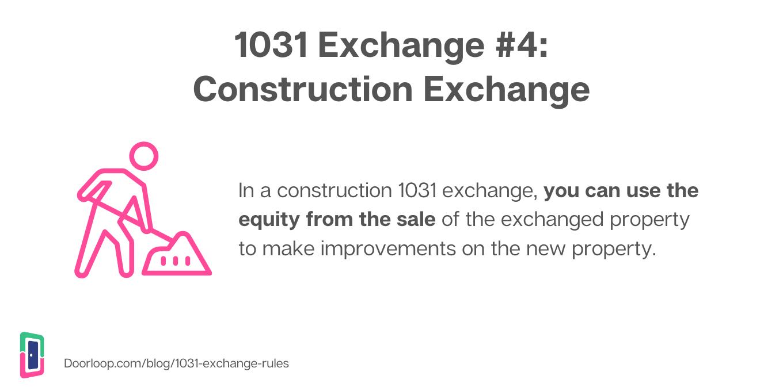 1031 construction exchange