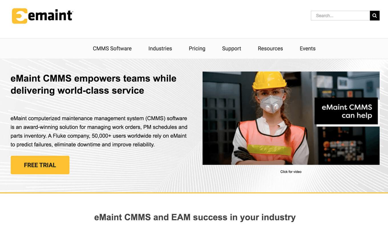 eMaint Work Order Tools