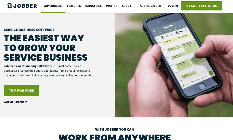 Jobber work order tool