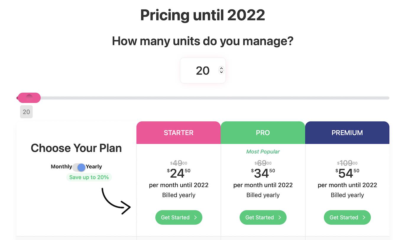 DoorLoop pricing