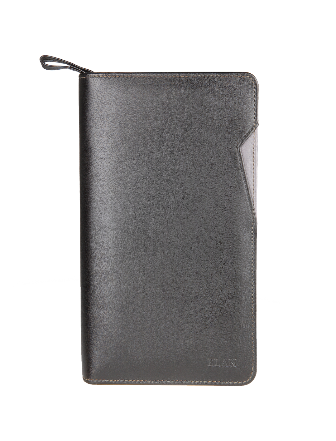 Leather Zip Travel Wallet