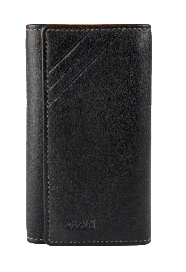 Classic Leather Slim Key Pouch
