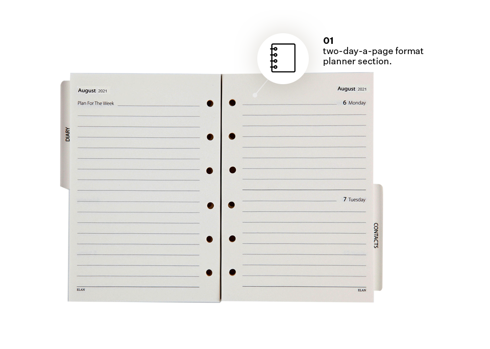 Personal Planner Refill Set