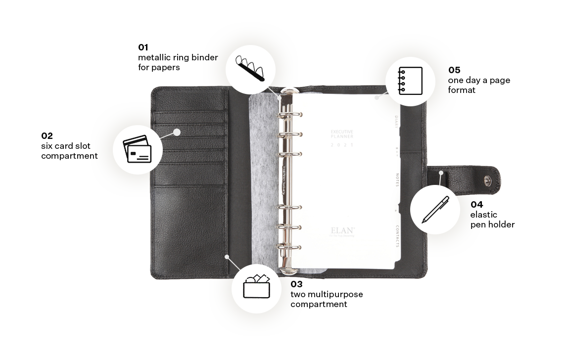 Foam Executive Planners (Medium)