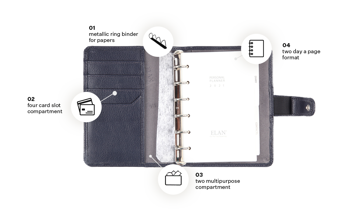 Foam Personal Planners (Compact)