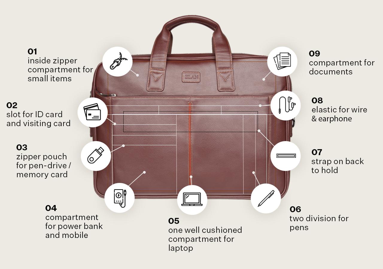 Foam Business  Bag