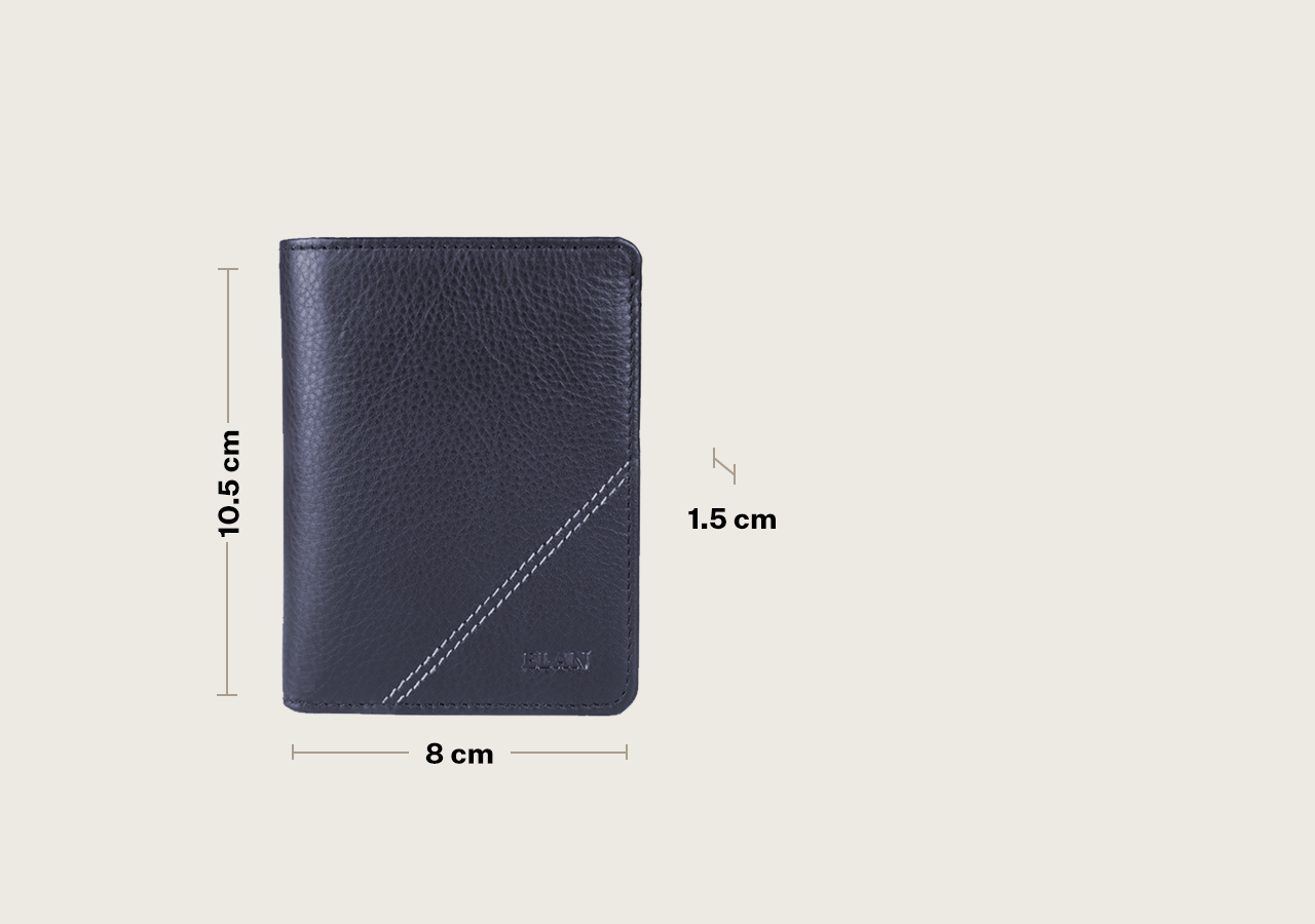 Classic Leather Horizontal Card Holder