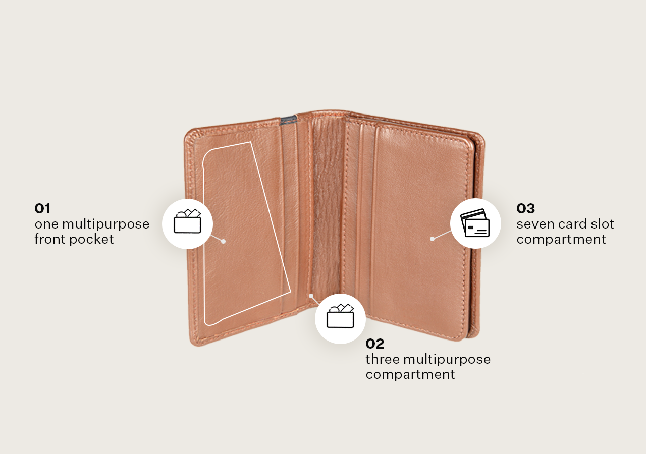 Card Holder with Flap