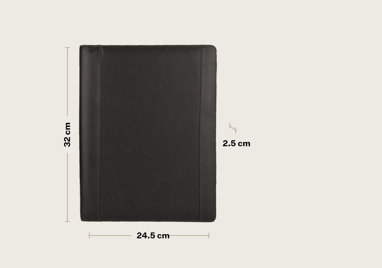 Foam Zip Around Folder - A4