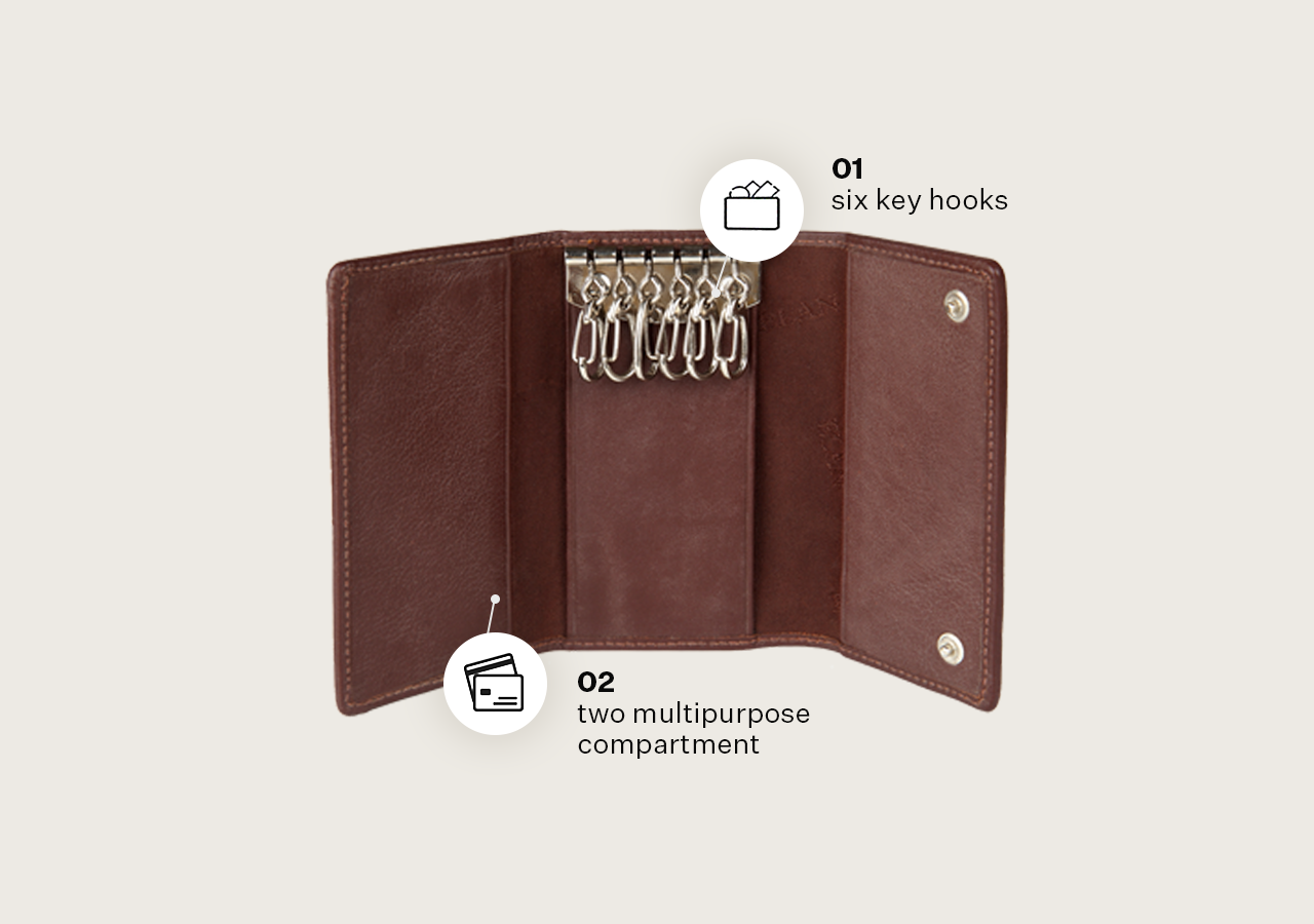 Coin Pouch Wallet & Card Holder & Key Pouch