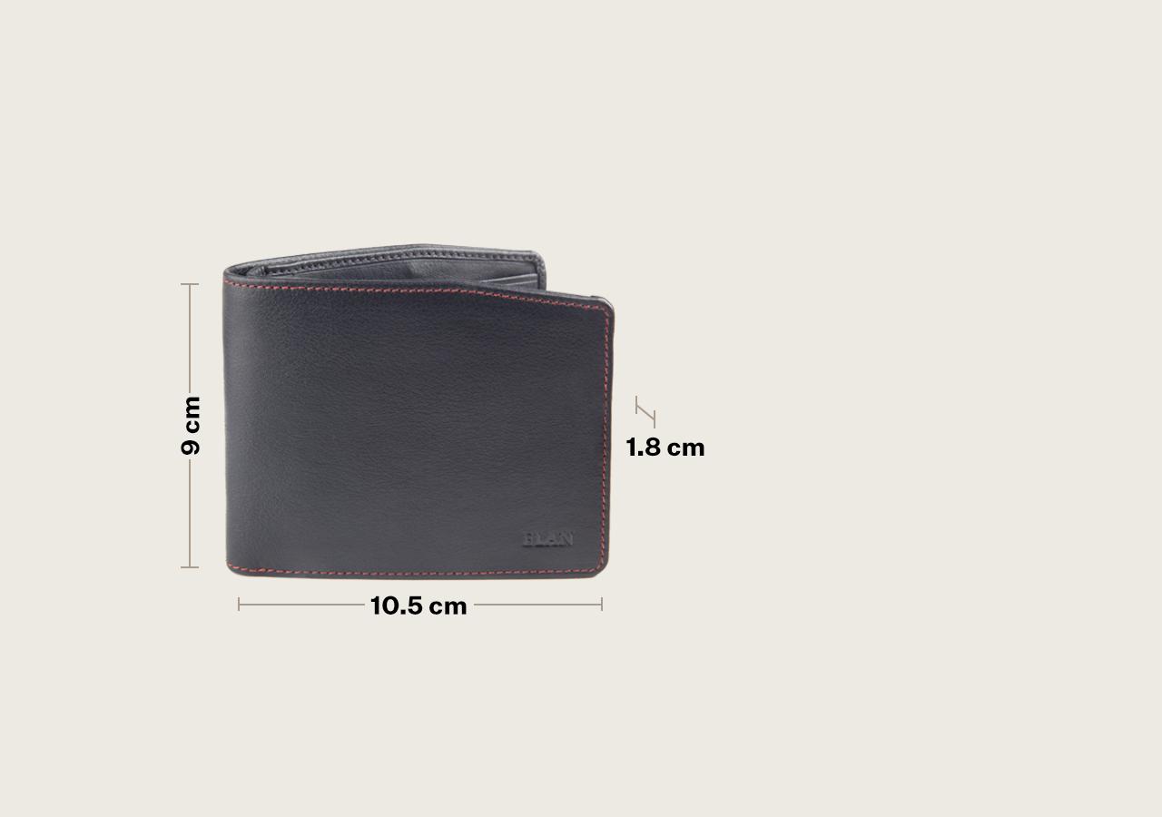 Leather Slim Moneyclip Wallet