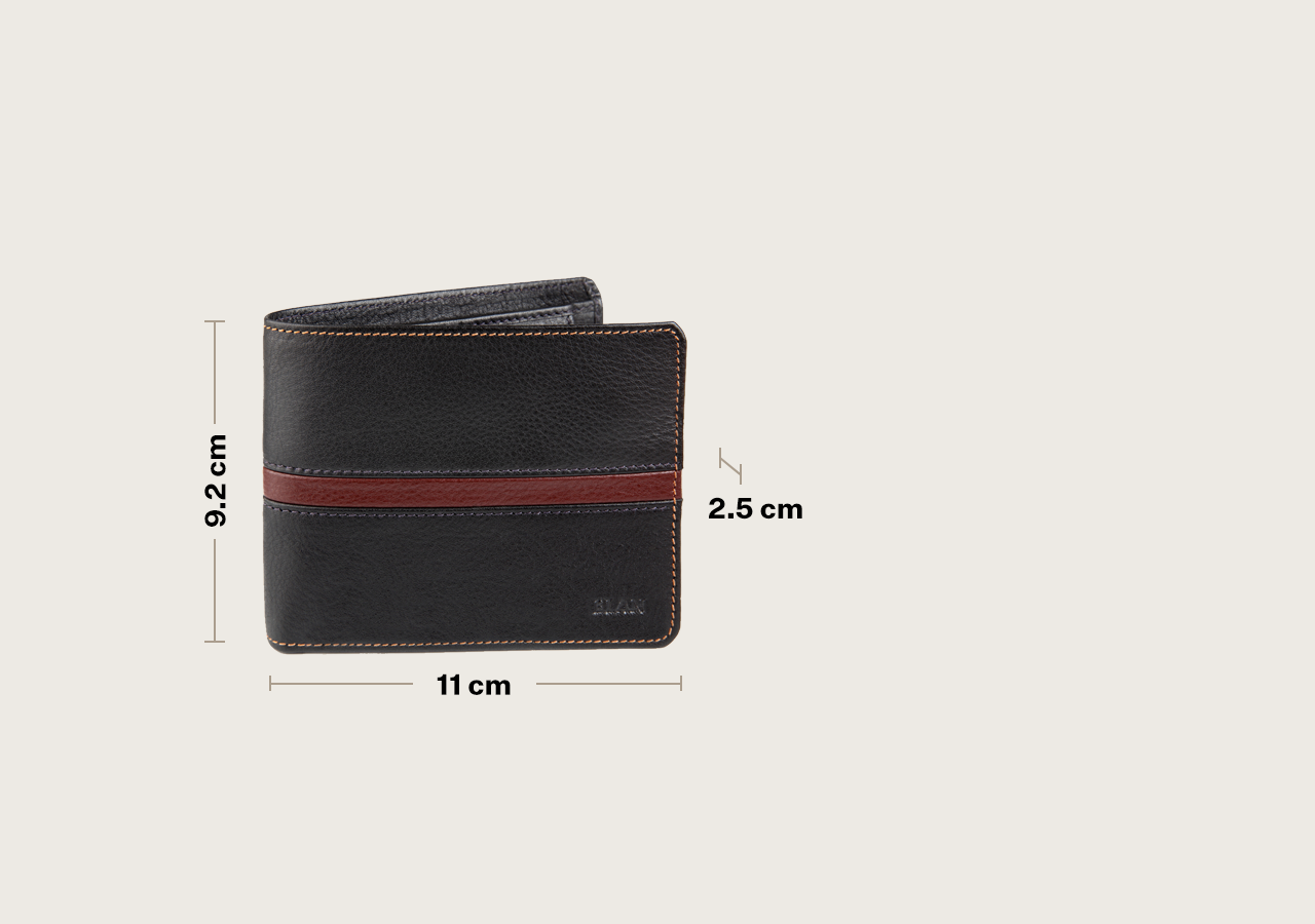 Leather Coin Pouch Flap Wallet