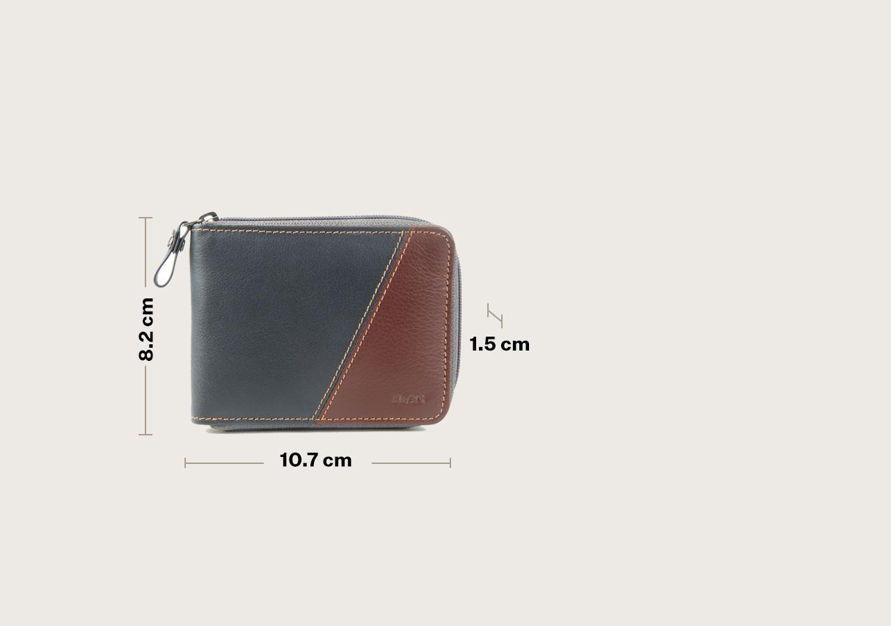 LTH Slim Zipper Card Wallet