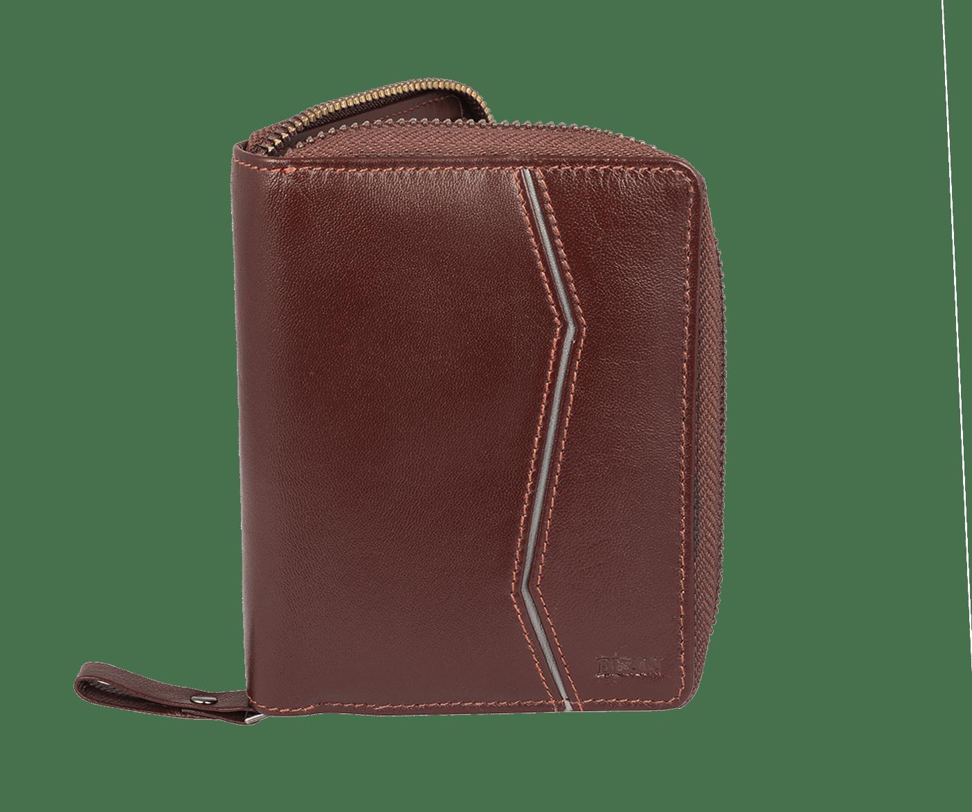 ELAN Leather Ladies Zipper Wallet